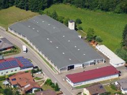 BIAX Flexwellen Produktionsstätte Hilsbach aus der Vogelperspektive